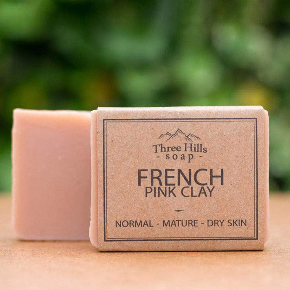Three Hill Soaps Soap Three Hills French Pink Clay Soap