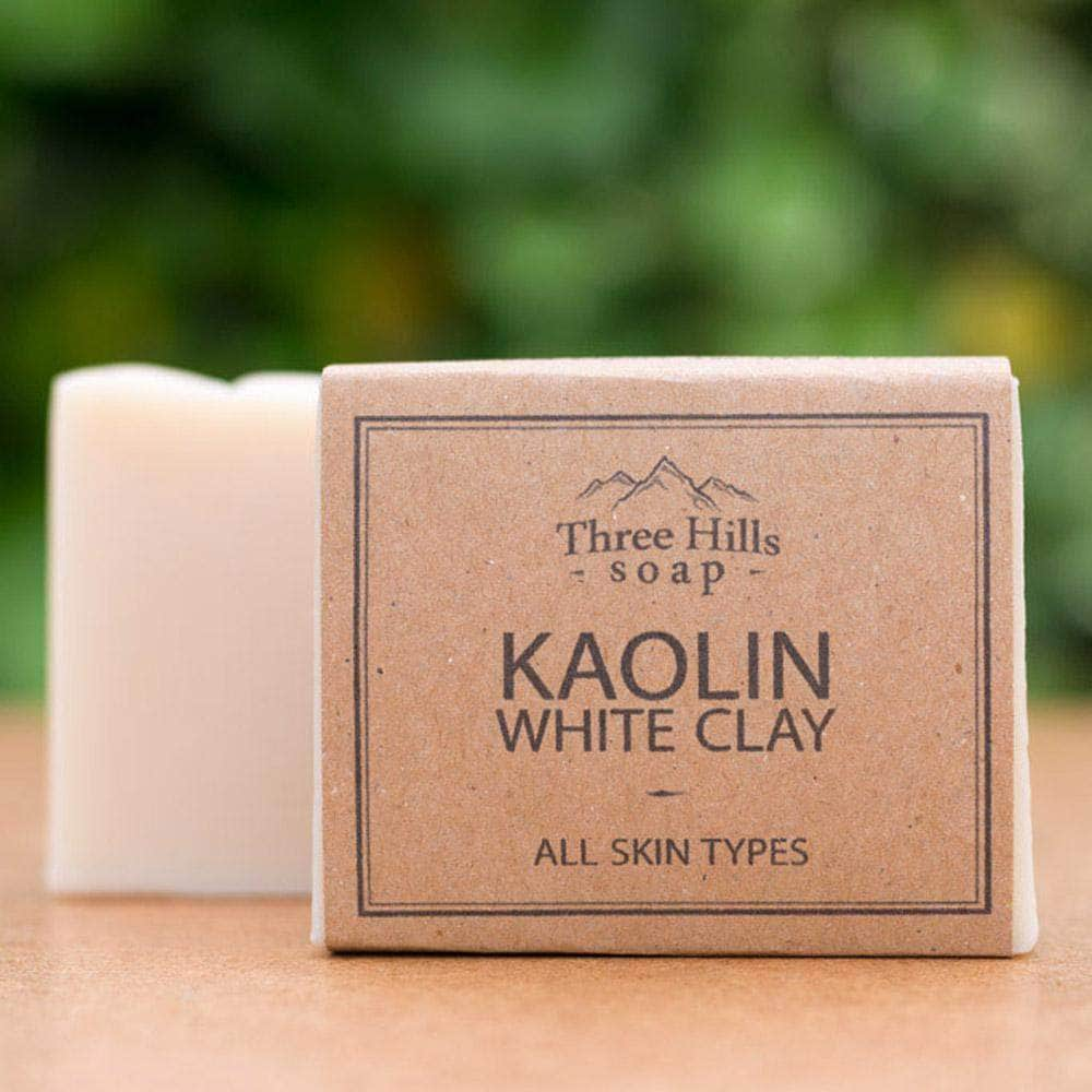 Three Hill Soaps Soap Three Hills Kaolin White Clay Soap