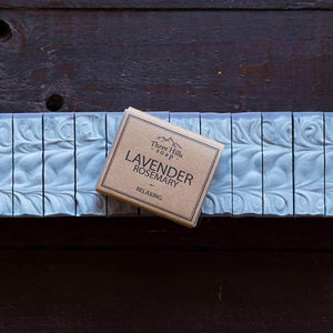 Load image into Gallery viewer, Three Hill Soaps Soap Three Hills Lavender Rosemary Soap