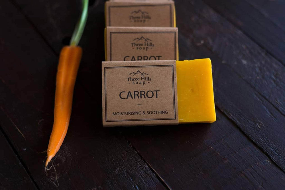 Load image into Gallery viewer, Three Hill Soaps Soap Three Hills Soap - Carrot Soap