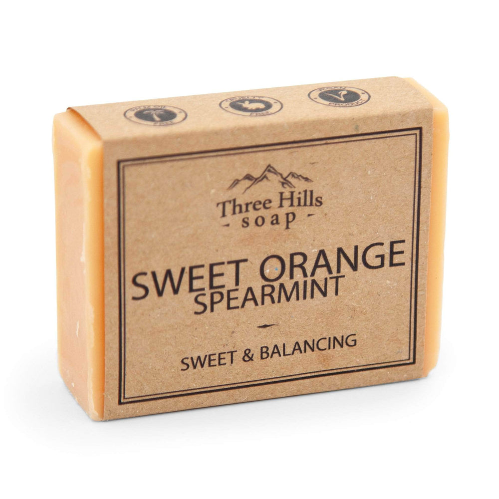 Load image into Gallery viewer, Three Hill Soaps Soap Three Hills Sweet Orange Spearmint Soap