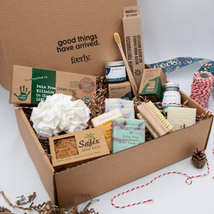 Faerly The Sustainable Bathroom Starter Pack Gift Box