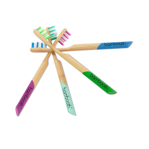 Bambooth Toothbrush Bamboo Toothbrush Soft - Sea Blue