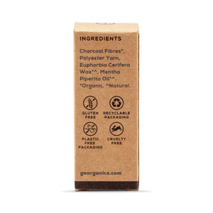 Load image into Gallery viewer, Georganics Toothpaste Georganics - Charcoal Dental Floss - Natural