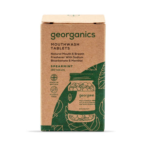Georganics Toothpaste Georganics - Mouthwash Tablets 180 - Spearmint