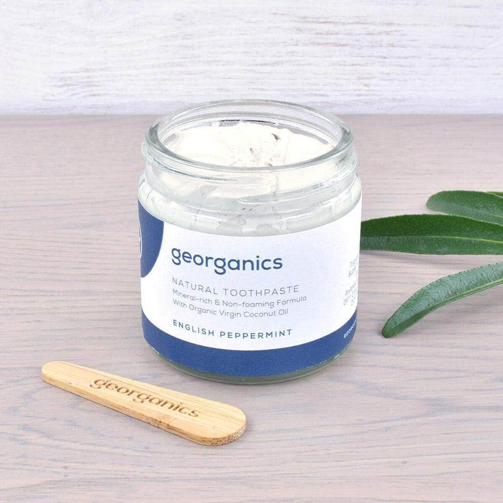 Load image into Gallery viewer, Georganics Toothpaste Georganics - Toothpaste - English Peppermint 60ml