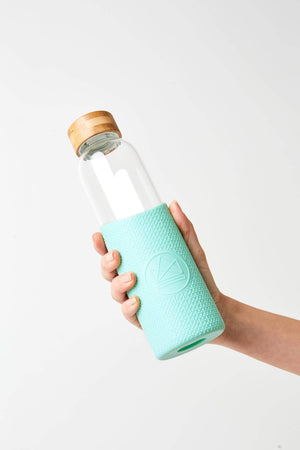 Neon Kactus Water Bottle Neon Kactus - Glass Water Bottles - 550ml - Free Spirit Turquoise