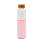 Neon Kactus - Glass Water Bottles - 550ml - Pink Flamingo
