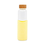 Neon Kactus - Glass Water Bottles - 550ml - Sun Is Shining Yellow