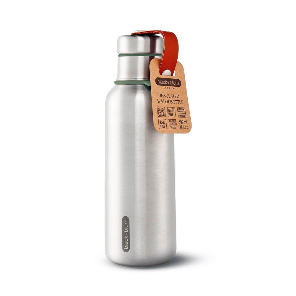 Load image into Gallery viewer, black + blum Water Bottles black + blum Stainless Steel Insulated Water Bottle 500ml - Olive