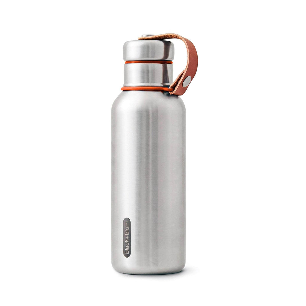 black + blum Water Bottles black + blum Stainless Steel Insulated Water Bottle 500ml - Orange