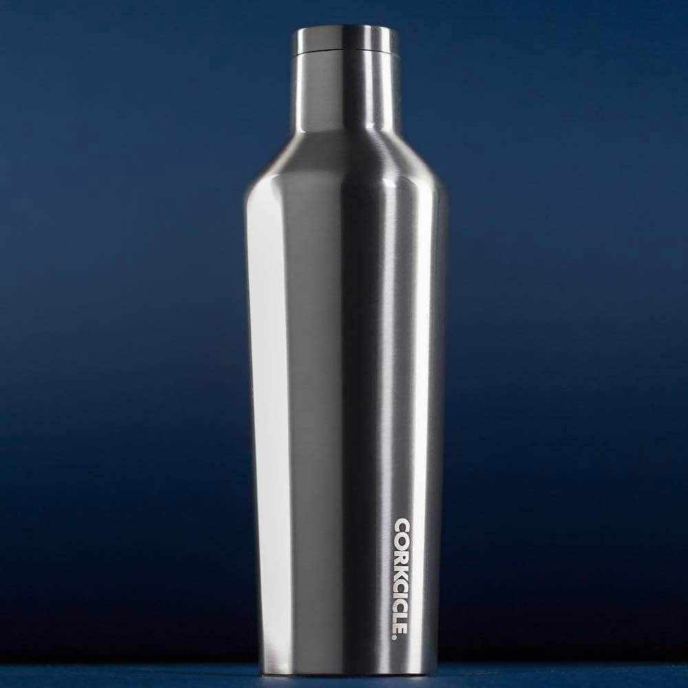 Corkcicle Water Bottles Corkcicle Canteen - Insul. Bottle - 16oz/475ml - Gunmetal