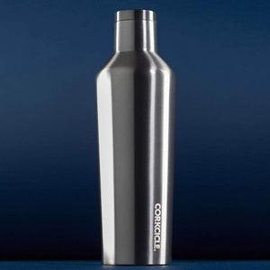 Load image into Gallery viewer, Corkcicle Water Bottles Corkcicle Canteen - Insul. Bottle - 16oz/475ml - Gunmetal