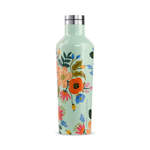 Corkcicle Water Bottles Corkcicle Canteen - Insul. Bottle - 16oz/475ml - Lively Floral