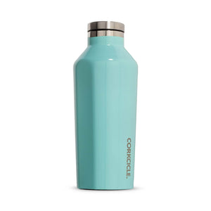 Corkcicle Water Bottles Corkcicle Canteen - Insul. Bottle - 9oz/265ml - Gloss Turquoise