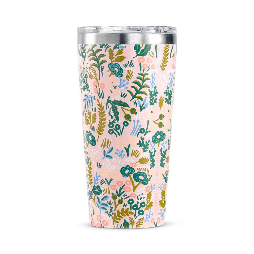 Corkcicle Water Bottles Corkcicle Insul. Tumbler - 16oz/475ml - Rifle Paper Pink Tapestry