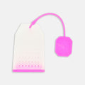 Pink Silicone Tea Bag Strainer
