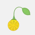 Lemon Silicone Tea Strainer