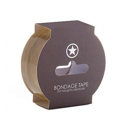 Bondage Tape Non Sticky 17.5m Transparent