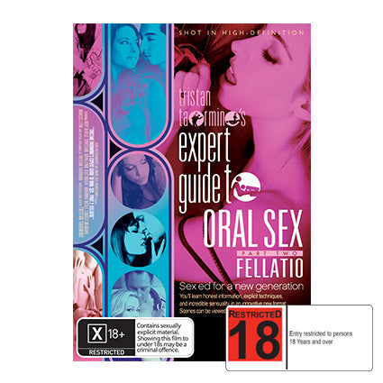 Expert Guide to Oral Sex Fellatio R18 DVD