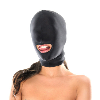 Fetish Fantasy Bondage Hood Open Mouth