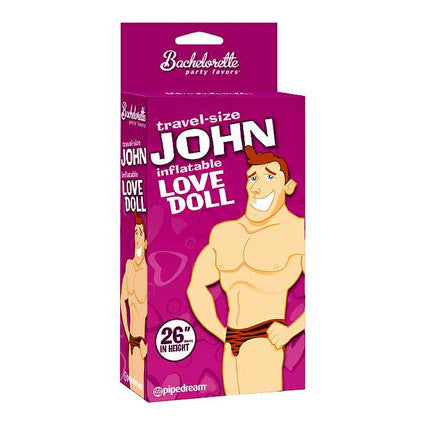 Travel Size Inflatable John Doll