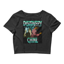 Load image into Gallery viewer, DISCOVERY CHANNEL Women's Crop Tee