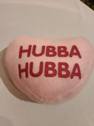 Plush Conversation Heart