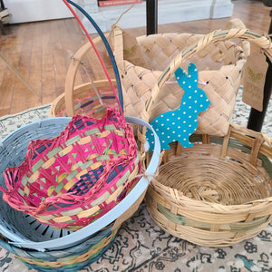 Vintage Easter Basket - Large