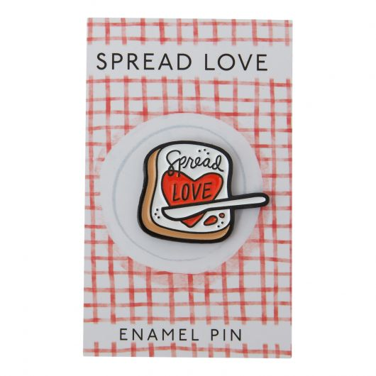 Spread Love - Enamel Pin