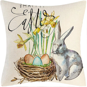 Easter Pillow Covers - 18x18