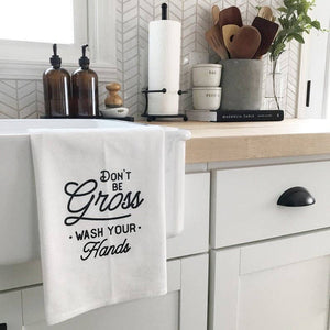 Don't Be Gross Flour Sack Fingertip Towel