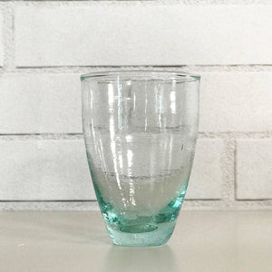 Moroccan Handblown Stemless Wine Glass