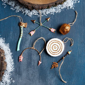 Vibrant Woodland Ornaments