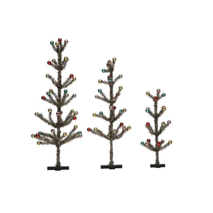 Reproduction Tinsel Trees
