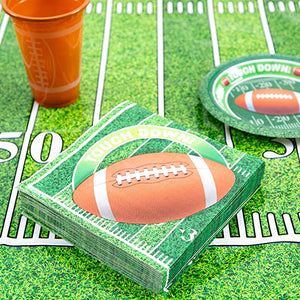 Super Bowl Paper Dinner Napkins