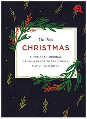 On This Christmas: Five Year Journal