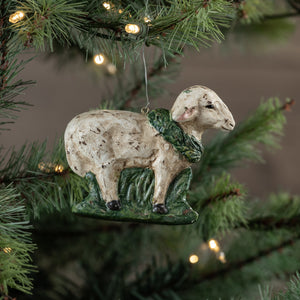 Pressed Sheep Ornament