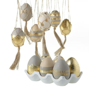 Macrame Easter Eggs - Set of 6