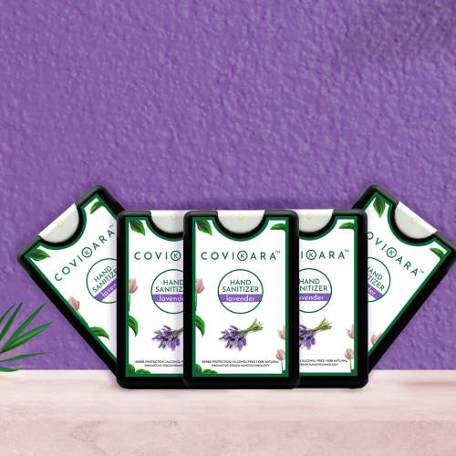 POCKET HAND SANITIZER (LAVENDER) - 18 ML (PACK OF FIVE)