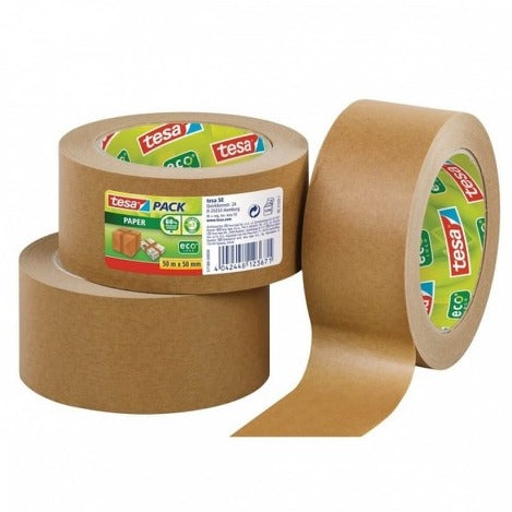 Paper packaging tape three rolls