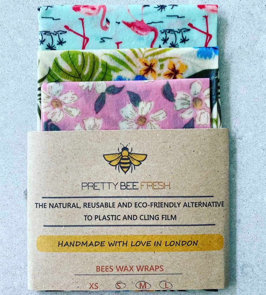 Beeswax Wraps Kitchen Pack - E T H I C A L E
