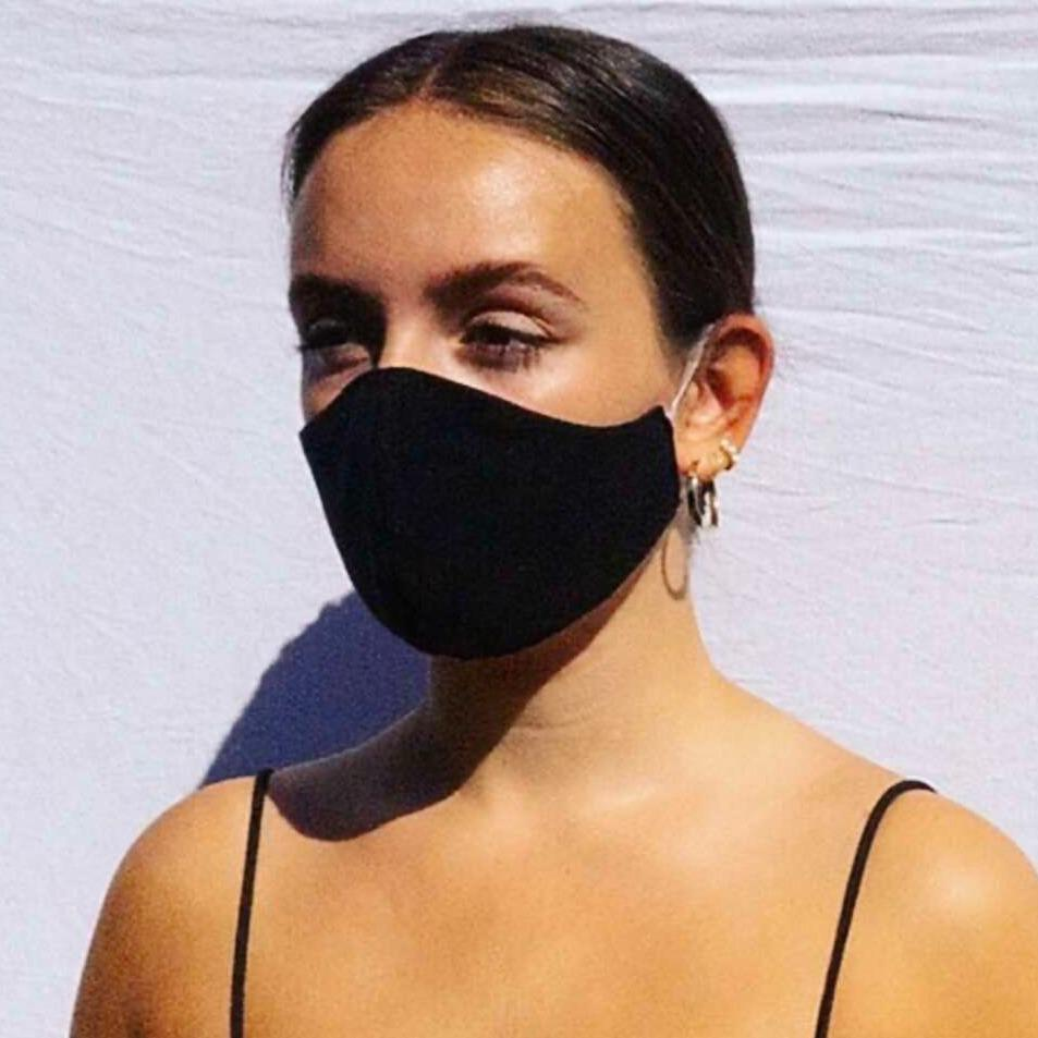 Bamboo & Organic Cotton Fitted Face Mask - E T H I C A L E