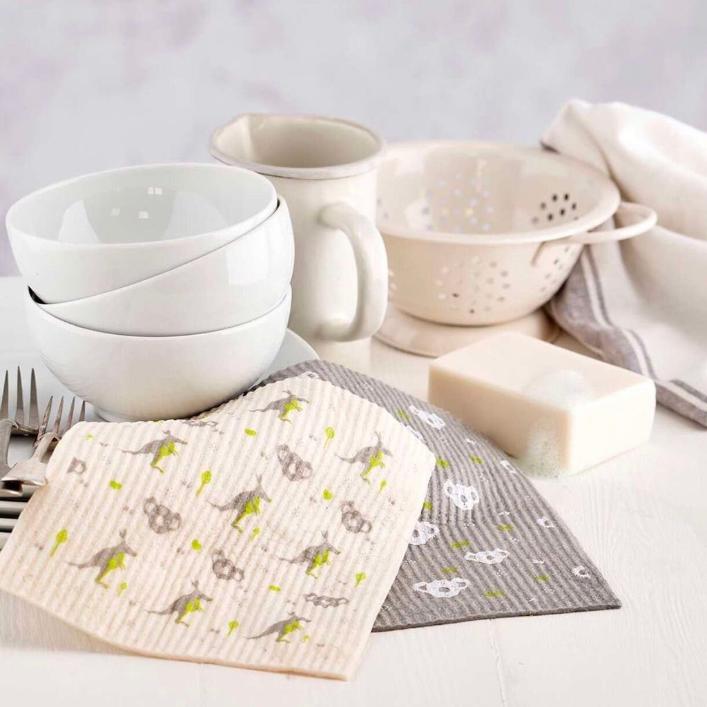 compostable kitchen dish cloths