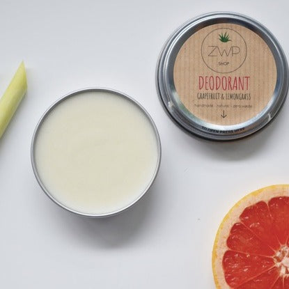 Zero Waste Path Deodorant Grapefruit + Lemongrass