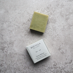 Bottega Zero Waste Green Refresh Face & Body Soap showing packaging