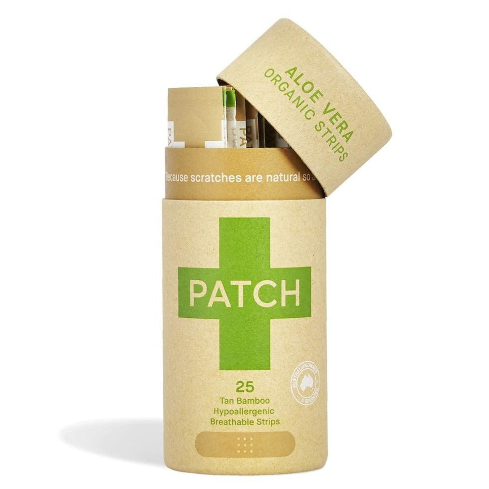 Patch biodegradable plasters - aloe vera