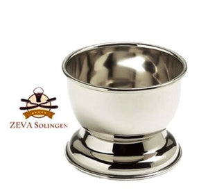 Men's Shaving Bowl Cup Mug for Shaving Soap Cream Stainless Steel
