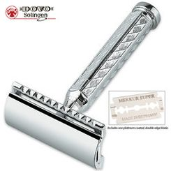 Dovo Nickel Plated Razor