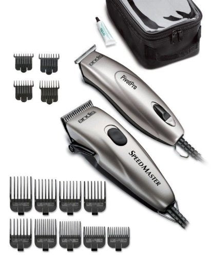 Andis Pivot Motor Clipper Trimmer Combo 24075 GREY